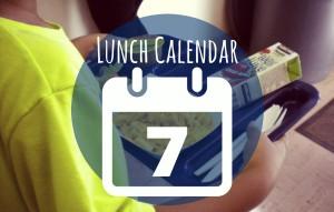 Lunch Calendar